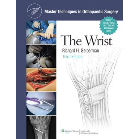 Master Techniques in Orthopaedic Surgery: The Wrist -