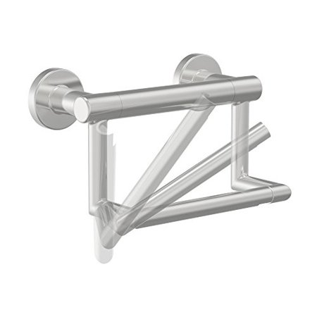 Delta Faucet 41550-SS Contemporary Tissue Holder/Assist Bar, Stainless - image 4 of 4
