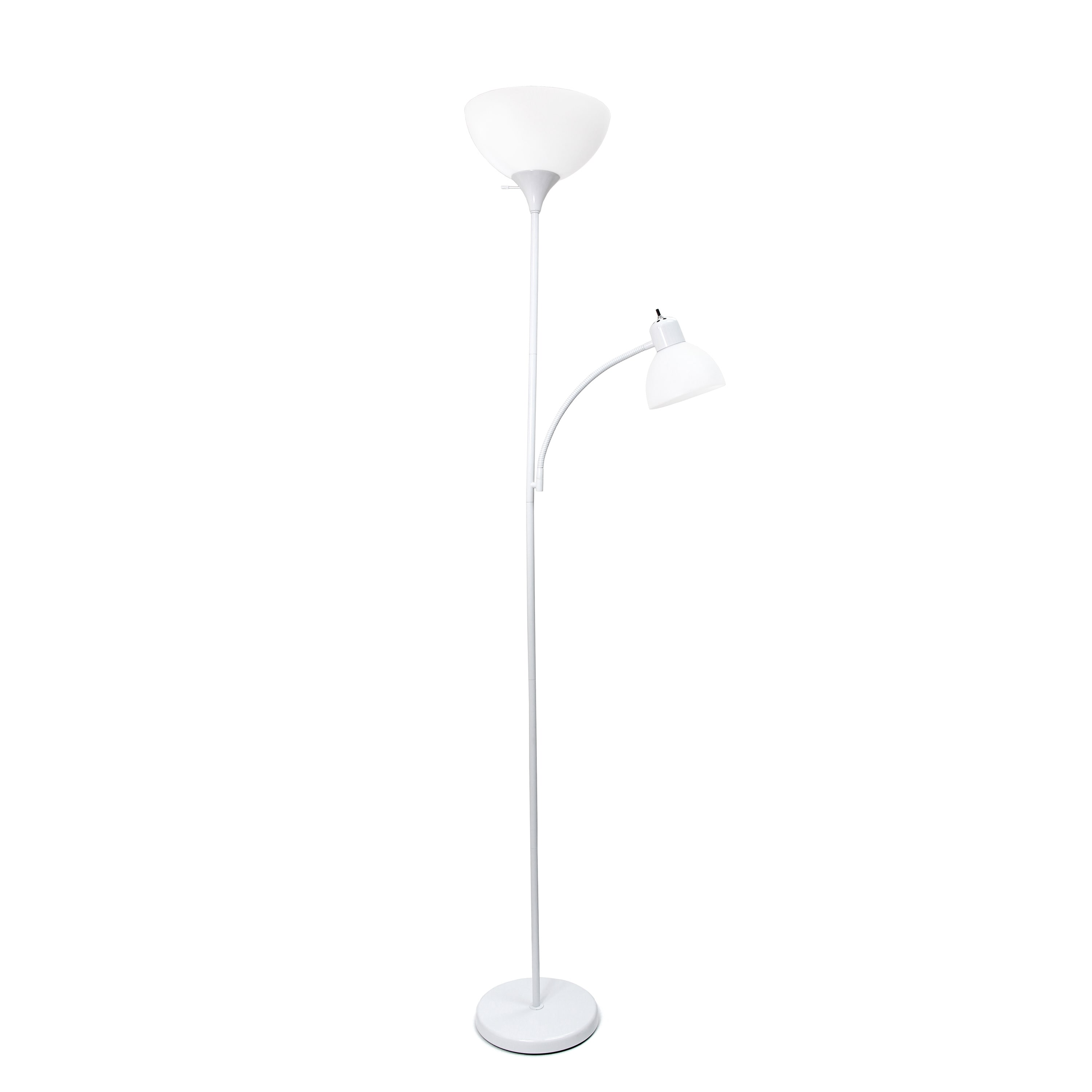 Simple Designs Floor Lamp with Reading Light by All the Rages Inc