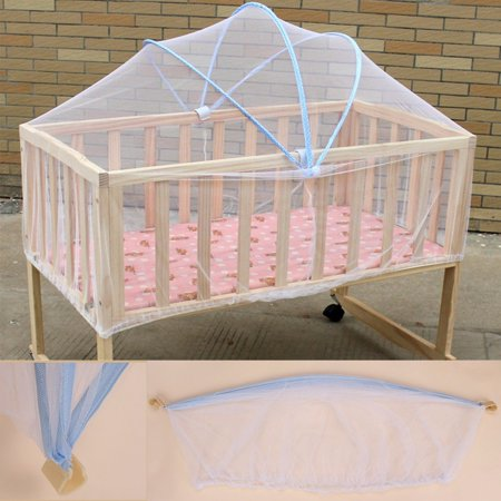 Summer White Baby Cradle Bed Canopy Mosquito Net Toddlers Crib Cot Netting Safe School Season Discount Today's Special Offer!