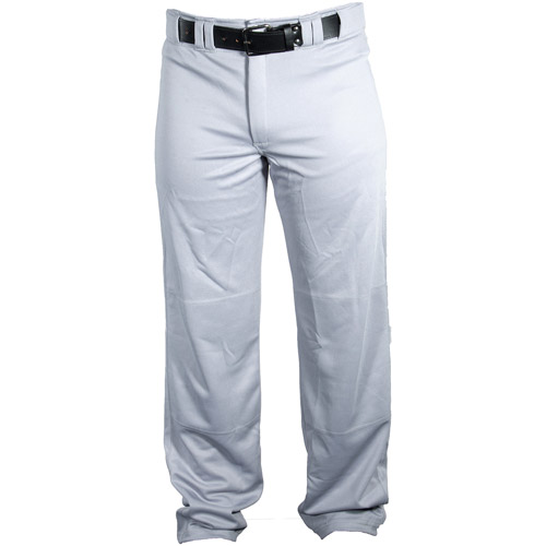 Louisville Slugger Boys' Slugger Heavy-Warp Knit Boot-Cut Stadium Pants, White