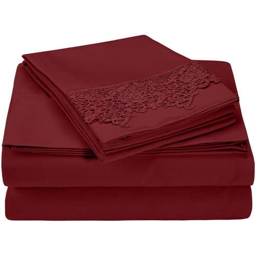 Simple Luxury Heritage 3000 Series Microfiber Sheet Set