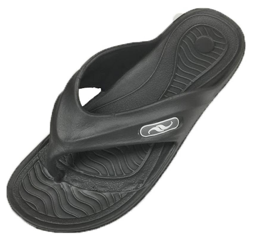 0121 Men's Rubber  Sandal Slipper Comfortable Shower Beach Shoe Slip On Flip Flop