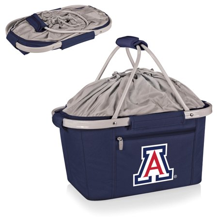 Arizona Wildcats Metro Basket Collapsible Tote - Navy - No Size