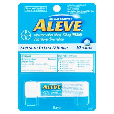 Aleve Analgésique / Fièvre Réducteur comprimés, 220 mg, 10 count