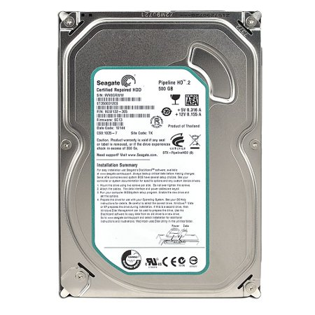 5400rpm 8mb Notebook Hard Drive - Refurbished Seagate Pipeline HD.2 3.5