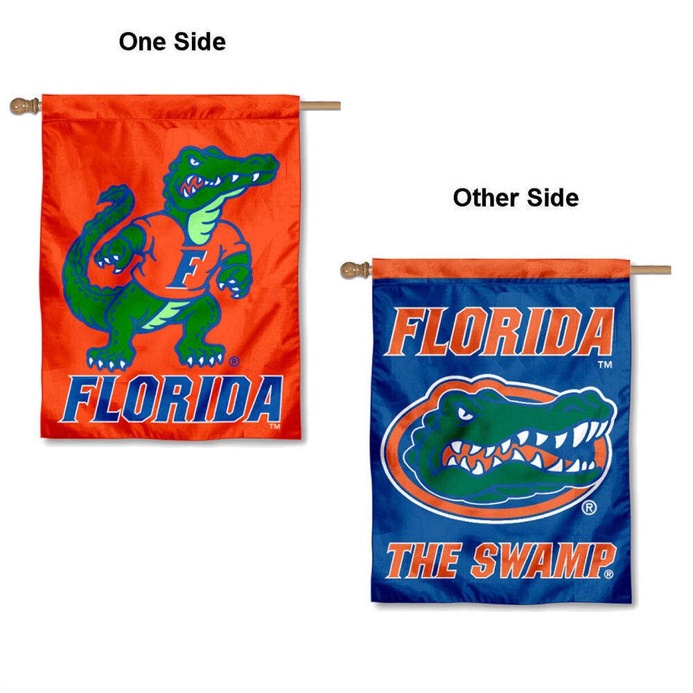 "Florida Gators 30"" x 40"" Two Sided House Flag"