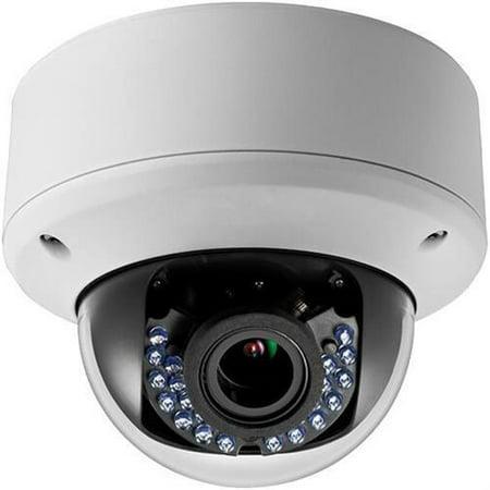 Vandal Proof Infrared 36 Led - LTS LTCMHD3423DW 2.1MP 2.8-12mm Varifocal High Resolution True WDR 42IR LED Indoor/Outdoor Vandal Proof HD-TVI Dome Camera ( White )