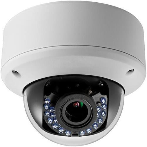 LTS LTCMHD3423DW 2.1MP 2.8-12mm Varifocal High Resolution True WDR 42IR LED Indoor/Outdoor Vandal Proof HD-TVI Dome Camera ( White )