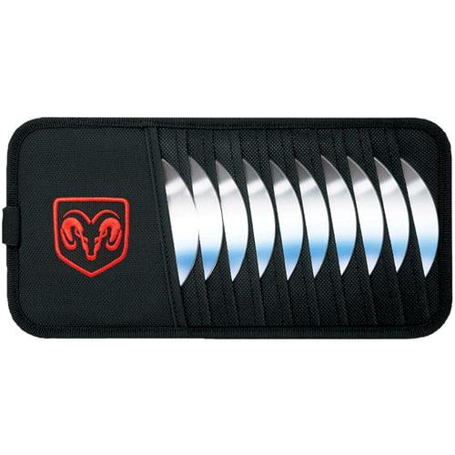 PlastiColor® Ram 10 CD Visor Organizer