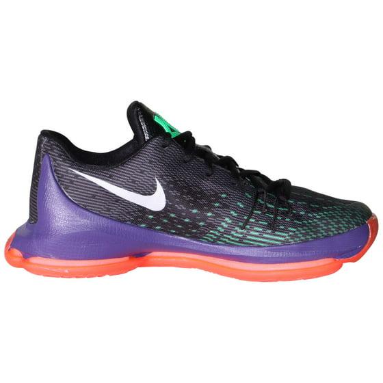 e39587db2184 Nike - Nike Youth Boys  KD 8 Basketball Shoes-Black Green Shock Hyper Orange  - Walmart.com