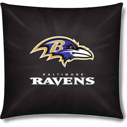 "NFL Baltimore Ravens Official 15"" Toss Pillow"