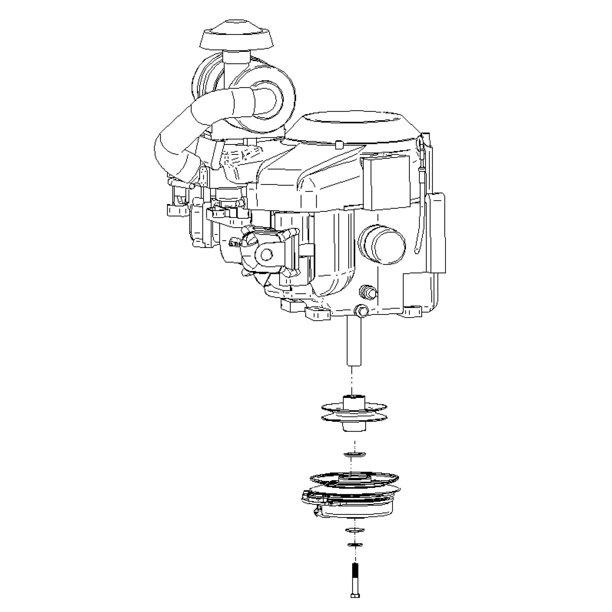 dixie chopper oem briggs repl 36 hp engine kit for 36 hp vanguard manual  clutch engines generac 27  33 hp / 903277
