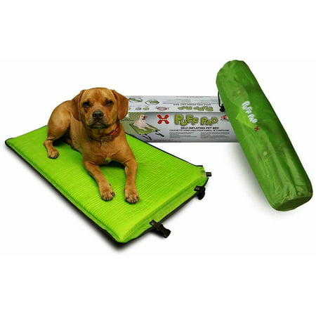 Hugs Pet Products Puff Pad Dog Self-Inflating Pet Bed