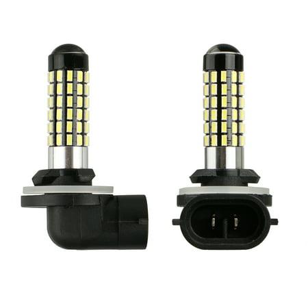 TSV 4W 881 6000K Super White LED Bulb 3014-78 SMD Fog Driving Light DRL 886 896 898 889 894 (One Pair) 894 Fog Light Bulbs