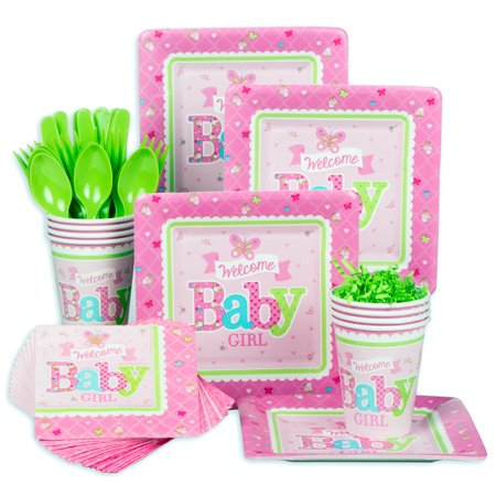 baby shower standard tableware kit serves 8 baby shower party
