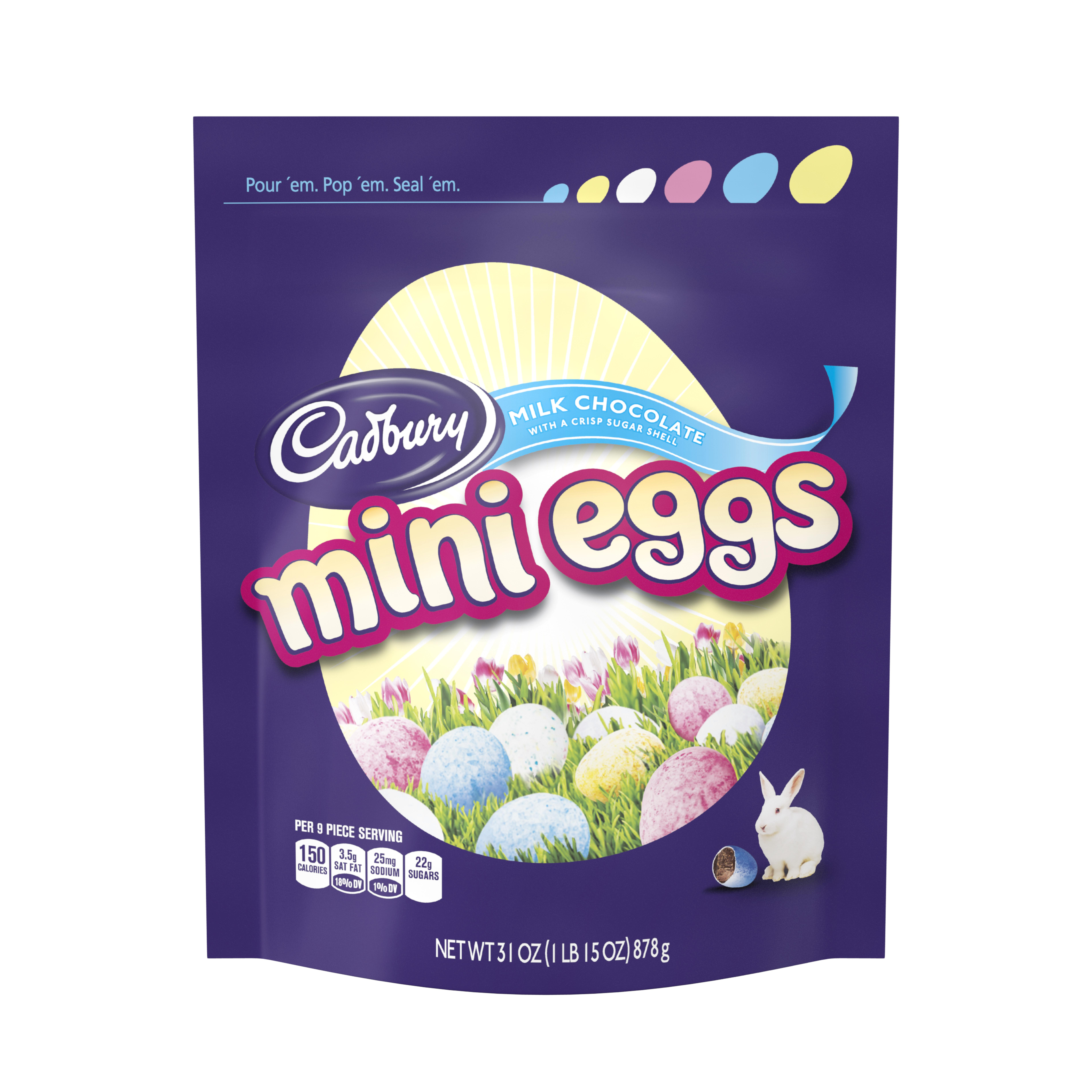 CADBURY Easter MINI EGGS Candy, 31 oz