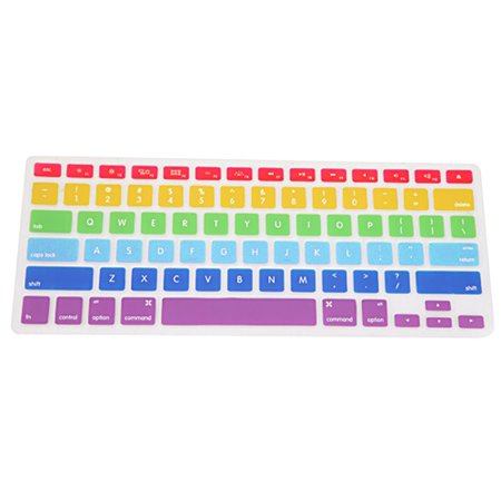 HDE Ultra Thin Silicone Rubber Keyboard Cover Macbook Pro Non Retina (Rubber Keyboard)