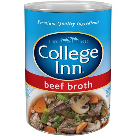 College Inn  99  Fat Free Beef Broth 14 5 Oz  Can