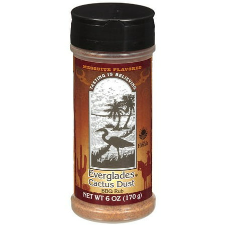 Everglades BBQ Rub Cactus Dust Seasoning, 6 oz