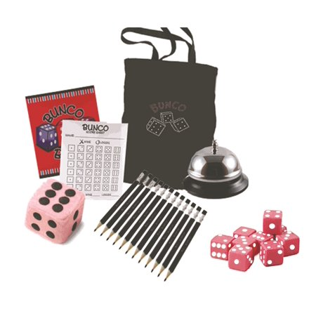 Bunco Game Kit with Crystal Tote Bag (Halloween Bunco Party)