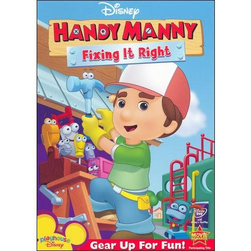 HANDY MANNY-FIXING IT RIGHT (DVD/FF 1.33/DDSS/SP-SUB)