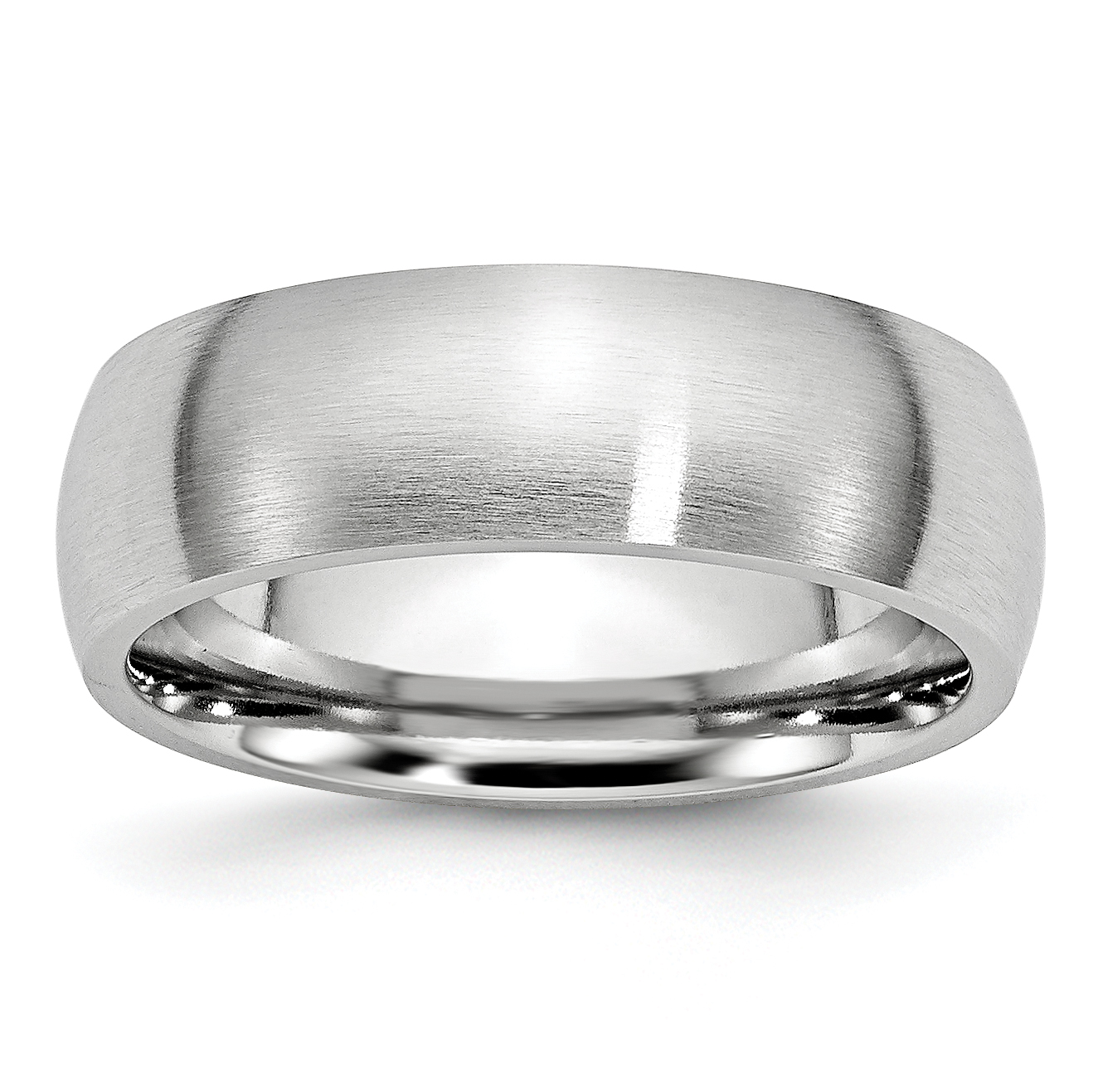 Cobalt 7mm Wedding Ring Band Size 10.00 Classic Domed Fashion Jewelry Gifts For Women For Her - image 9 de 9