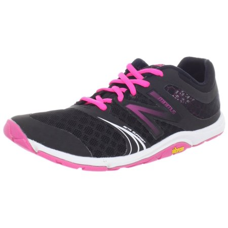 New Balance Women's WX20v3 Minimus Cross-Training Shoe,Black/Pink,9 B
