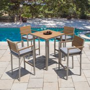Corvus  Jasmine Outdoor 5-piece Bar Set with Sunbrella Cushions
