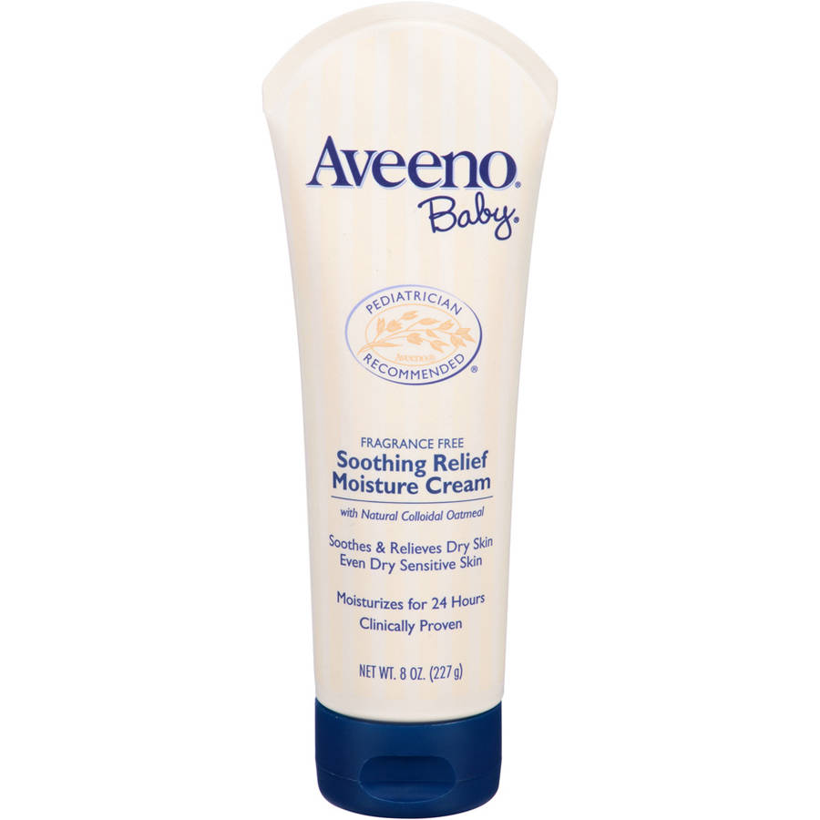 Aveeno Baby Soothing Relief Moisture Cream, 8 Oz - Walmart.com