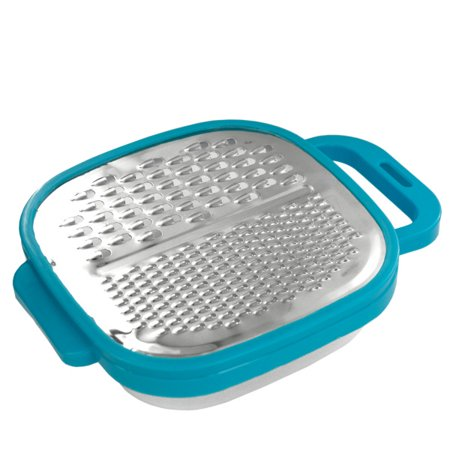 3 in 1 Multi-Grater with Snap-On Catch Tray, Pack of 4 ()
