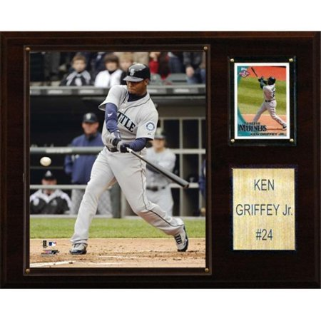 C & I Collectables 1215GRIFFEY MLB Ken Griffey Jr. Seattle Mariners Player Plaque - image 1 of 1