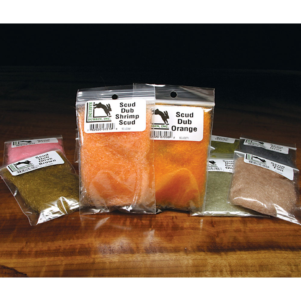 Hareline Scud Dub Fly Tying Materials Assorted Colors