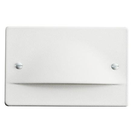 Kichler Lighting Design Pro Line Voltage LED Step Light, White Finish ()