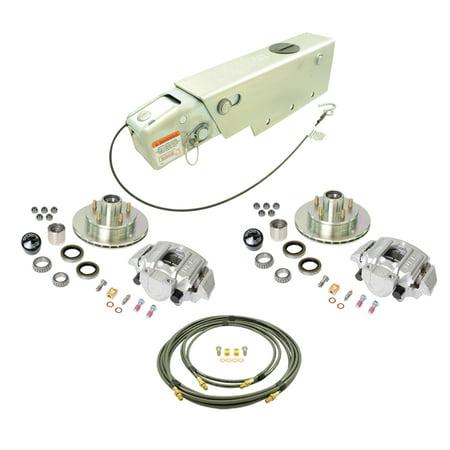 UFP K71-113-00 Complete 5 on 4.5 Bolt Pattern Alum Caliper A-60 3750# Rating Zinc+ Rotor Disc Brake