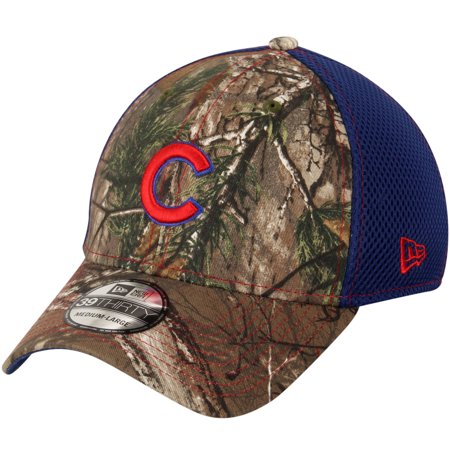 c6d066ee3b3 Chicago Cubs New Era Neo 39THIRTY Flex Hat - Realtree Camo - Walmart.com