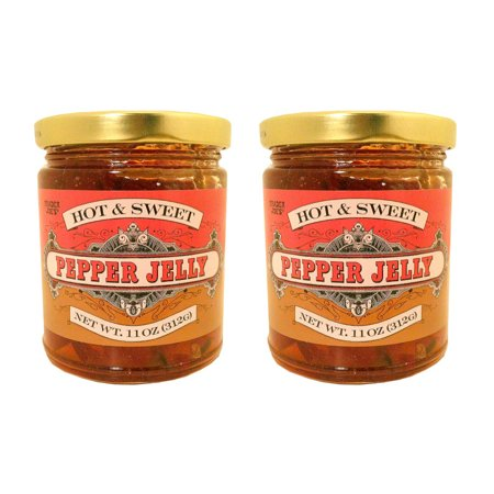 Trader Joe's Hot & Sweet Pepper Jelly 11 Oz. (Pack of