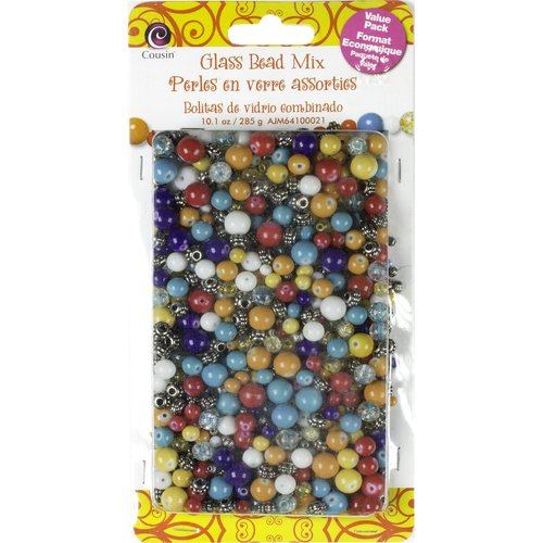 Cousin 10-Ounce Glass Bead Mix, Pinata