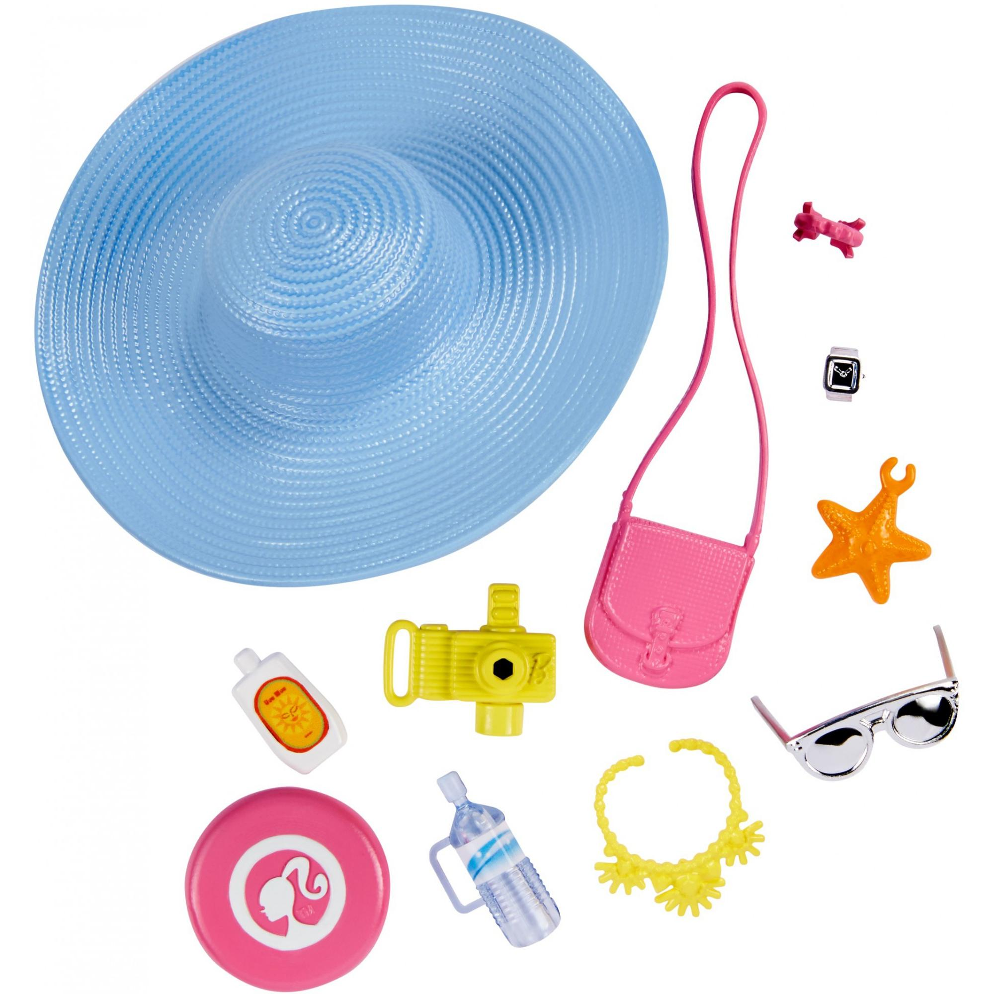 Barbie 12-Piece Sightseeing Themed Accessory Fashion Pack