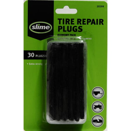 Slime Tire Repair Plugs, 30-count - 20299