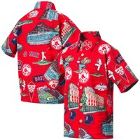 Boston Red Sox Reyn Spooner Youth Scenic Button-Up Shirt - Red