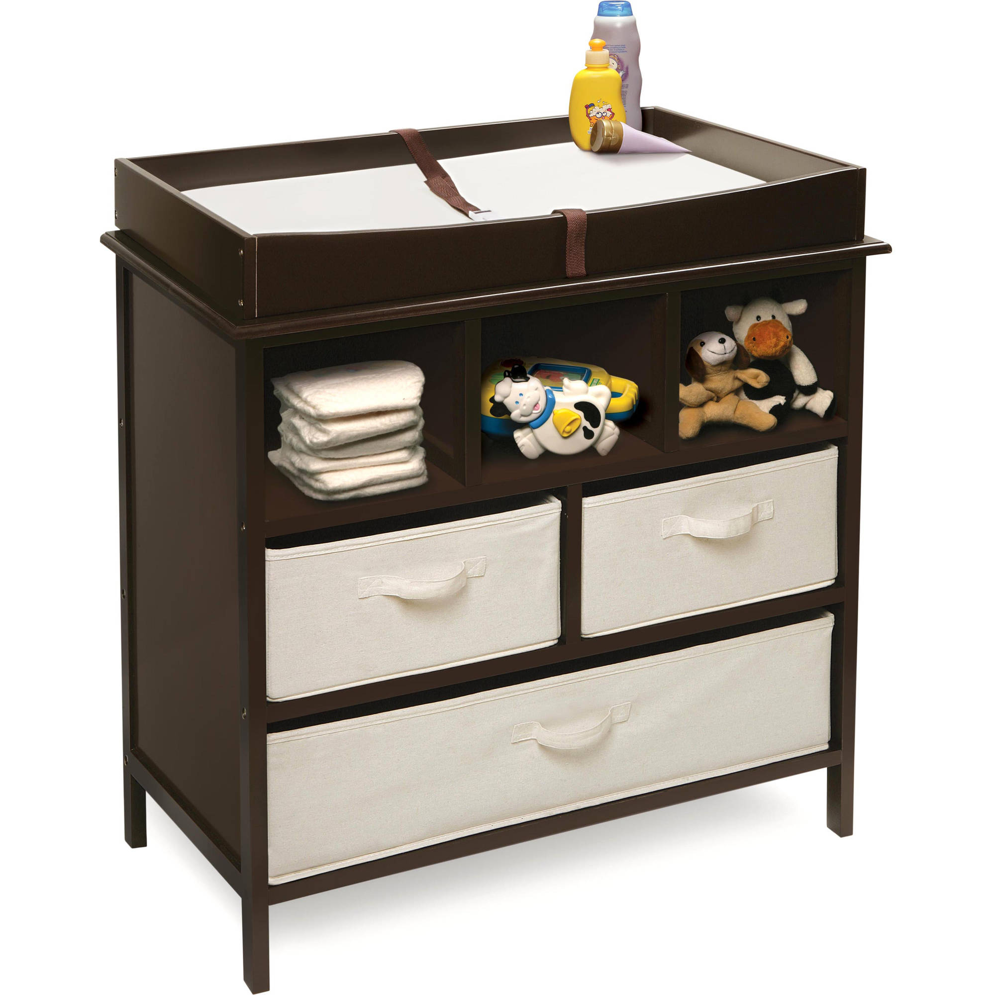 Estate Baby Changing Table Choose Your Finish Walmart