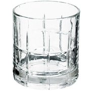 Anchor 68349 10.5 oz. Manchester Tartan Crystal Rocks Glasses, Pack of 12