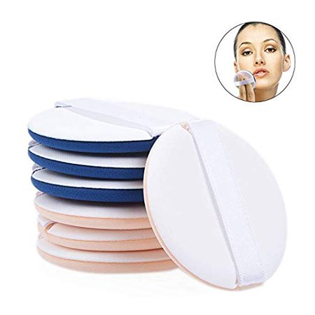 PRETTY SEE Pack of 7 Ultra-Soft Makeup Foundation Sponge Air Cushion Powder Puff for Applying BB Cream, Liquid Cream, Shading Loose Powder](Pretty Cat Makeup For Halloween)