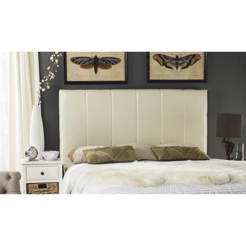 Safavieh Quincy White Leather Headboard (Queen)