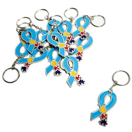 Autism Awareness Metal - Fun Keychains