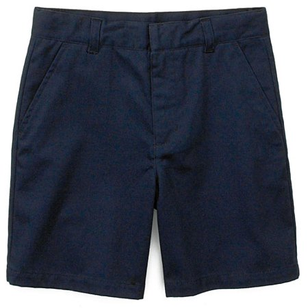 Faded Glory - Girl's School Uniform Flat-Front Shorts