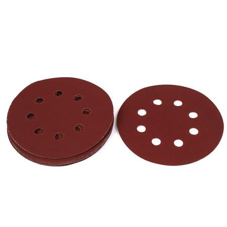 La Plaque en fibre verre, le meulage 1200 poussiére 8 trous Disque pon age velcro 10PCS - image 1 de 1