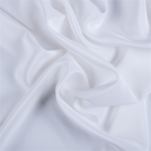 Black fabric white flower pattern printing 100/% Silk Crepe de Chine  fabric  Width 53 inch