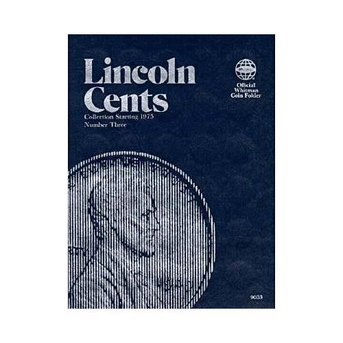 Lincoln Cents Collection Starting 1975